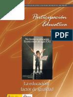 Participación educativa.Núm11. La educación factor de igualdad