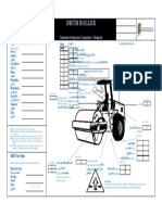Mobile Plant Checklist - Drum Roller