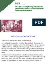 earthquake Type & faults