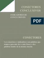 CONECTORES CONCLUSIVOS