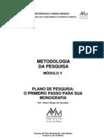 Metodologia de Pesquisa V v2007