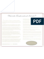 info brochure with border - paragraph and background
