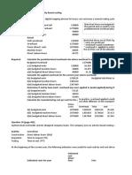 Calculative questions(2)