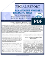 HPIX Special Report - Risk Management Advisory