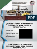 proyecto monografia el mercantilismo