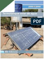 Termotanque solar de agua - introducción
