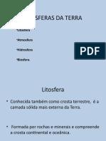 AS ESFERAS DA TERRA