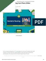 Geriatric Nursing Care Plans_ 11 Nursing Diagnosis for the Elderly