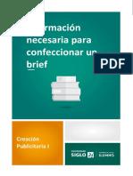 Información Necesaria Para Confeccionar Un Brief