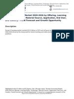 Europe E-learning Market 2020-2026