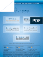 OPTIMIX MUTUAL FUND (Debt, Equity & FoF) - 042008