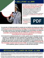 VISIÓN DEL PERÚ AL 2050