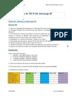 Serie 4 réseaux et protocoles L3