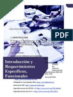 1. Introducción  y Requerimientos