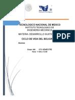 CICLO DE VIDA DEL BOLIGRAFO