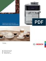 Bosch TES60351DE VeroAroma 300 Coffee Machine