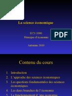 THEME 1 La science economique