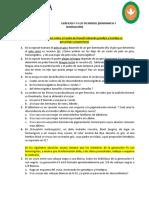 Ejercicios I y II Ley de Mendel (1)