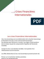 Support Crises Financières Internationales
