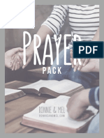Prayer Pack __ Ronnie and Mel