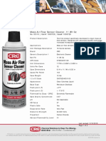 CRC 05110 MAF Cleaner Sell Sheet