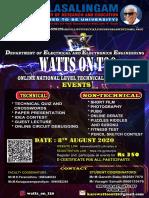 Wattson Poster