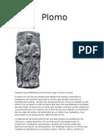 PROCESO DEL PLOMO