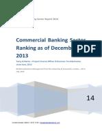 localcommercialbankingsectorrankingasofdecember312013-140711073418-phpapp02