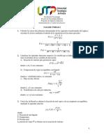 Taller Unidad 2. Matemáticas para el análisis de sistemas de control
