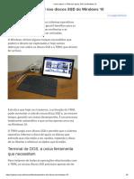 Como activar o TRIM nos discos SSD do Windows 10