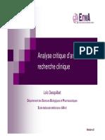 Analyse critique darticles V2