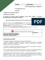 DIREITO PREVIDENCIÁRIO-esquema II (N1.A2)