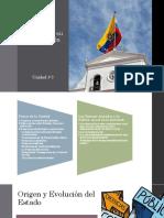 Unidad 3 - El Estado y su organización