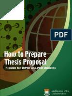 thesis-proposal HKU