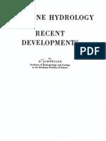 Arid zone hydrology - schoeller