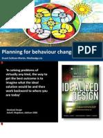 Planning for Behaviour Change