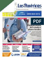 DIARIO LAS AMÉRICAS Portada digital del martes 29 de septiembre de 2020