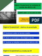 Apresentao-CANPAT---NR-09---Gilmar-Trivelato---Higiene-Ocupacional