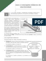 Nociones y conceptos basicos de electricidad , normas de seguridad