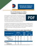 Boletim PED-DF Agosto 2020