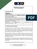 Derecho Procesal V UCEN