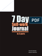 7 Day Self-Work Journal