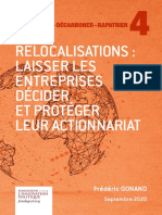 Etude Fondapol Frederic Gonand Relocalisation Laisser Entreprises Decider Proteger Actionnariat 2020 09