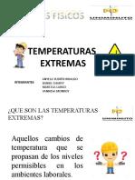 TEMPERATURAS EXTREMAS PRESENTACION