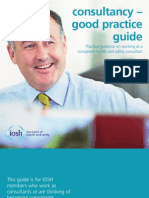 Consultancy - good practice  guide