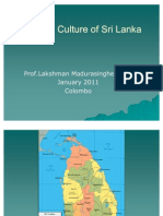 An Introduction to History and Culture of Sri Lanka by Prof Lakshman