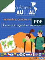 Agenda Casa Abierta AUSJAL