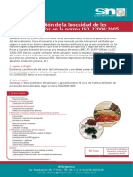 Sistemas de Gestion de la Inocuidad de los Alimentos
