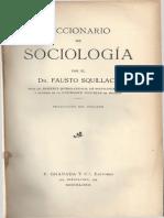 Diccionario de sociologia Squillace