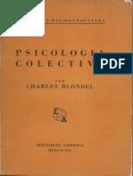 Psicologia Colectiva Blondel